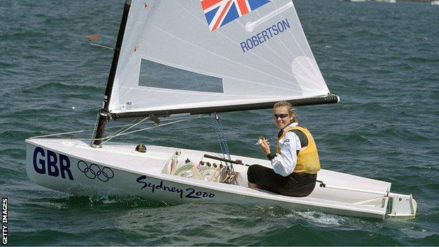 Shirley Robertson, Sydney 2000
