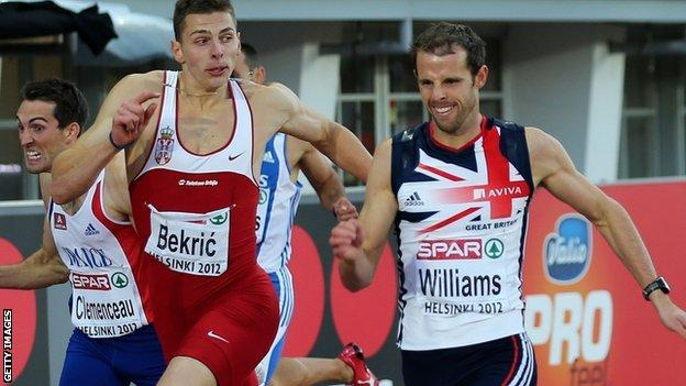 Rhys Williams wins gold in Helsinki