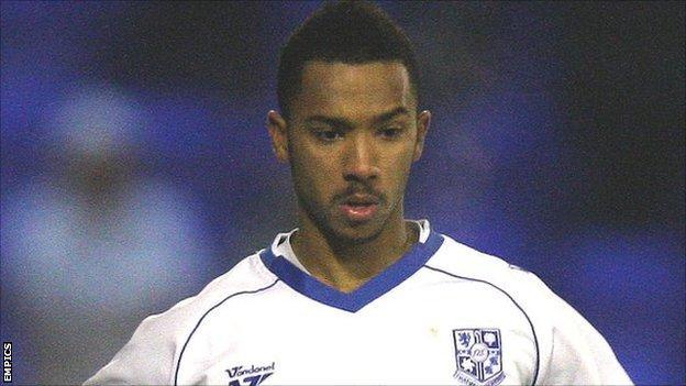 Brentford defender Shaleum Logan