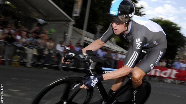 Team Sky rider Bradley Wiggins