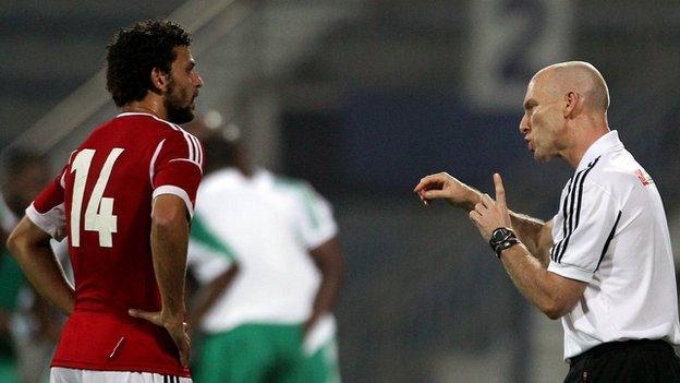 Bob Bradley and Hossam Ghali