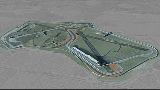 Silverstone new layout 2010