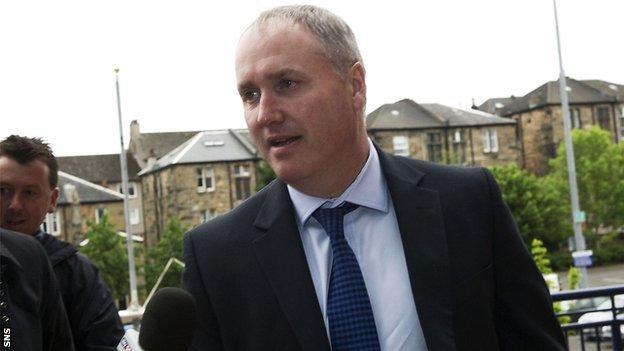 Motherwell director Derek Weir