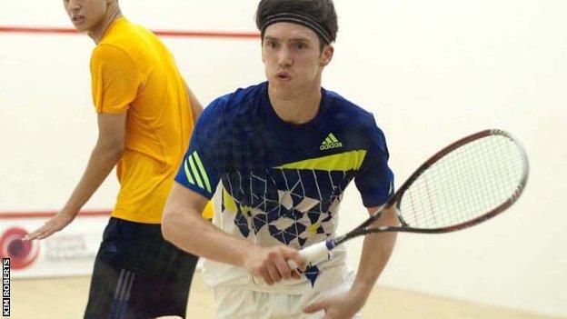 Chris Simpson winning the Kent Open
