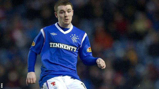 John Fleck refused to transfer his Rangers contract to the new company