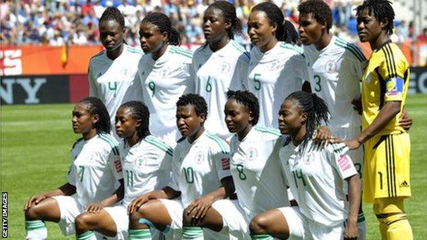 Nigeria's women's football team at the 2011 World Cup