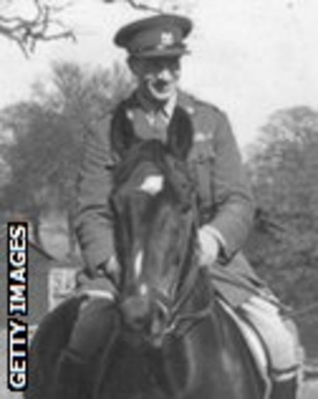1948 Olympics, Duggie Stewart rides Dark Seal