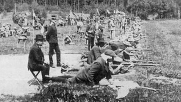 1912 Olympic Rifle Range, Kaknas, Sweden