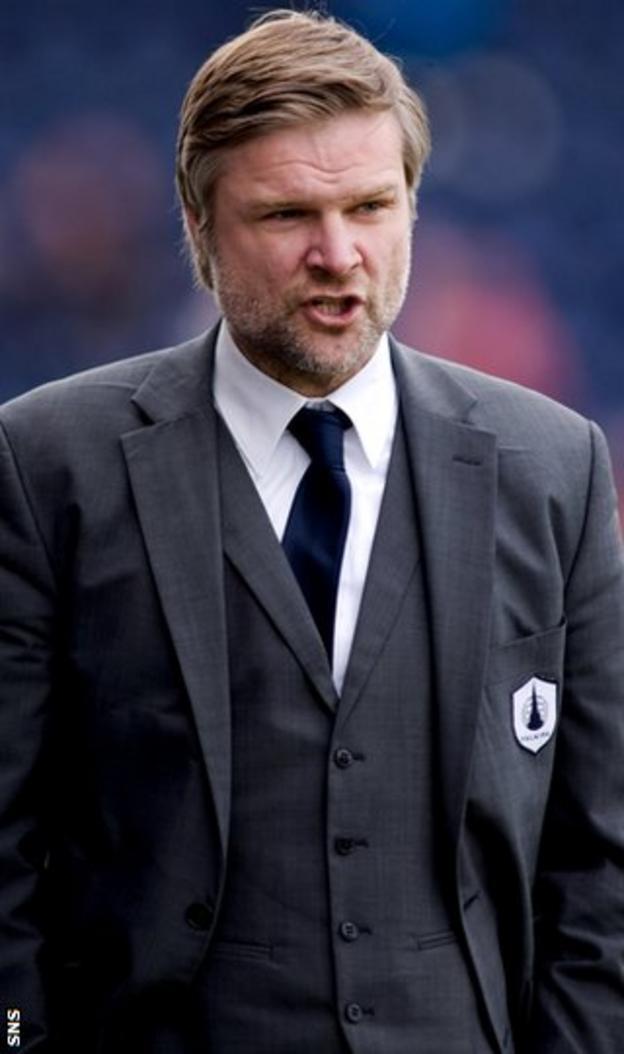 Pressley thinks Scottish football has been ripe for re-organisation