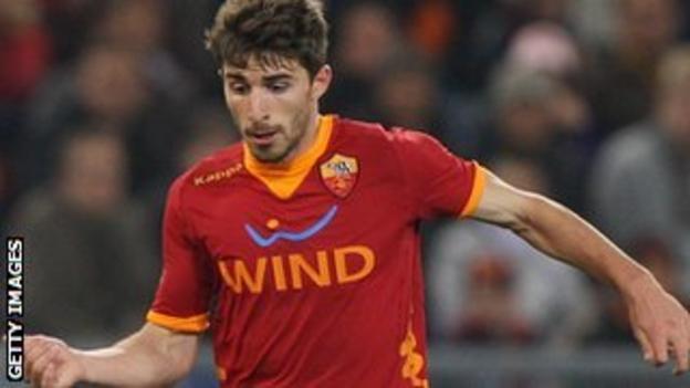 Roma's Fabio Borini