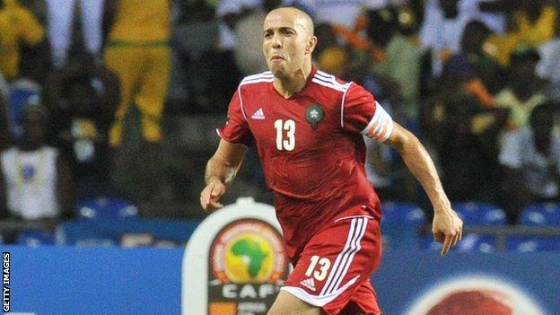 Morocco and Fiorentina's Houssine Kharja