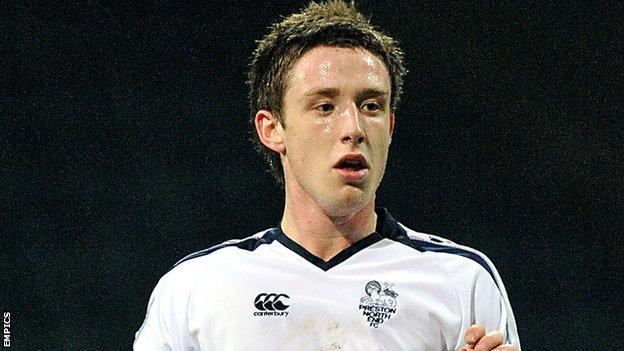 Accrington Stanley midfielder George Miller