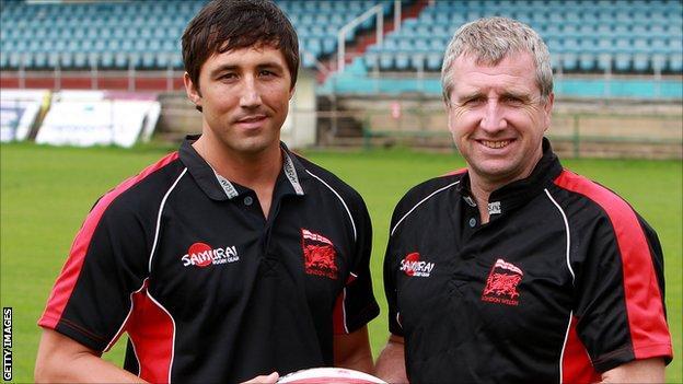 Gavin Henson and Lyn Jones