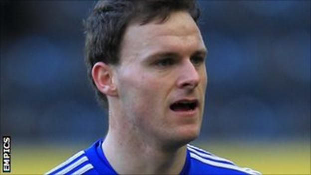 Bury goalkeeper Trevor Carson