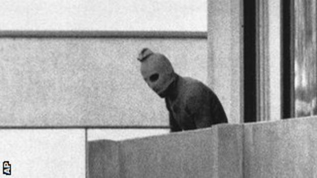 Black September terrorist, Munich 1972