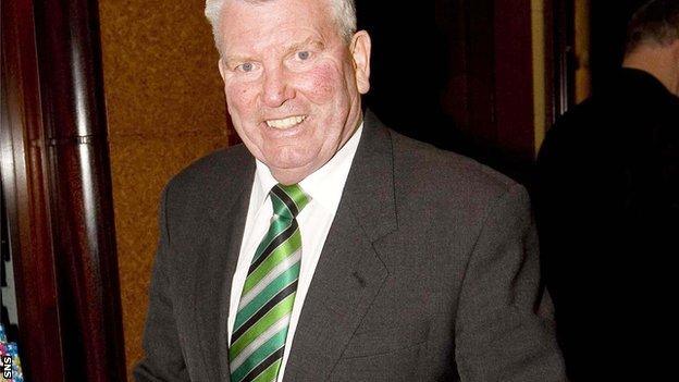 Joe McBride was still part of the Celtic Park staff