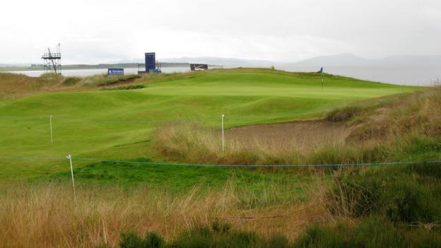 The 11th hole at Castle Stuart Golf Links