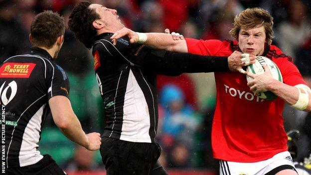 Munster A beat Cross Keys in last season's final