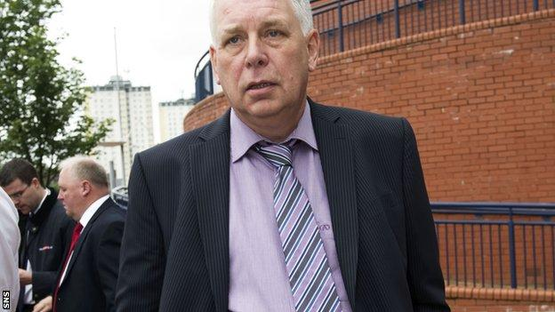 Yorkston is angry at the way the demise of Rangers has been handled by the SPL and SFA