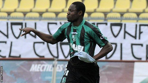 Ghana under-20 striker Richmond Boakye