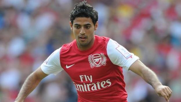 26a49d7d3 Arsenal striker Carlos Vela has signed for Real Sociedad - BBC Sport