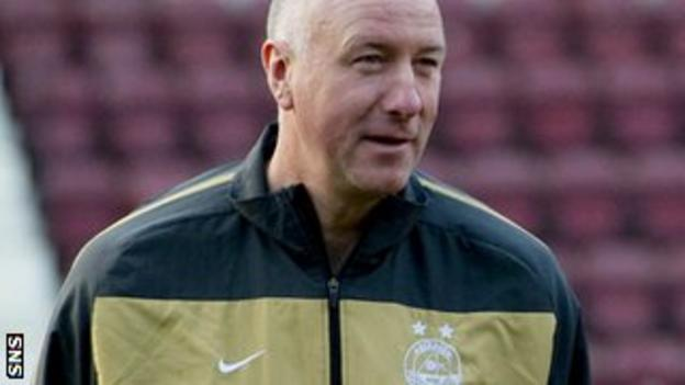 Simpson is now on the coaching staff at Pittodrie