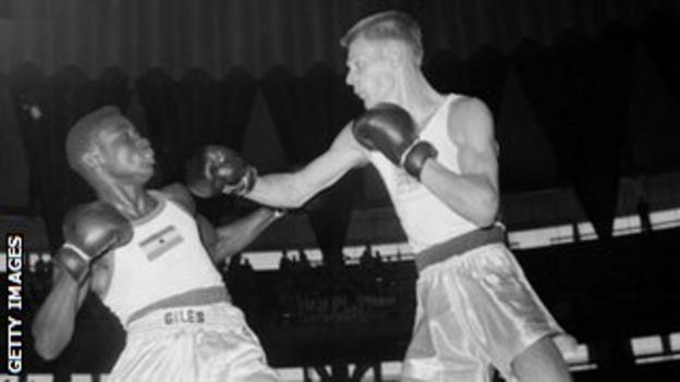 McTaggart v Eddie Blay of Ghana, Rome 1960