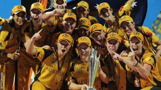 Australia are the defending champions from 2010