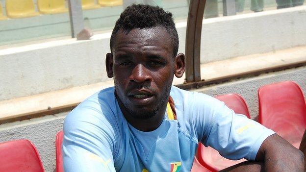 Ghana and Berekum Chelsea striker Emmanuel Clottey