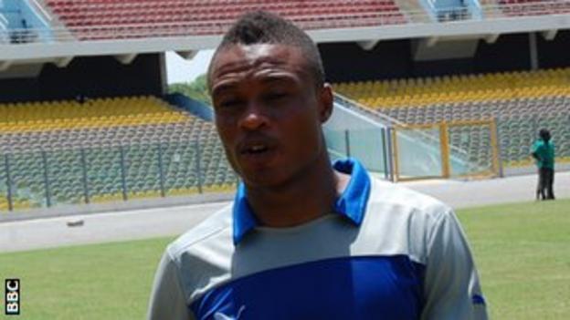 Ghana and Berekum Chelsea goalkeeper Ernest Sowah