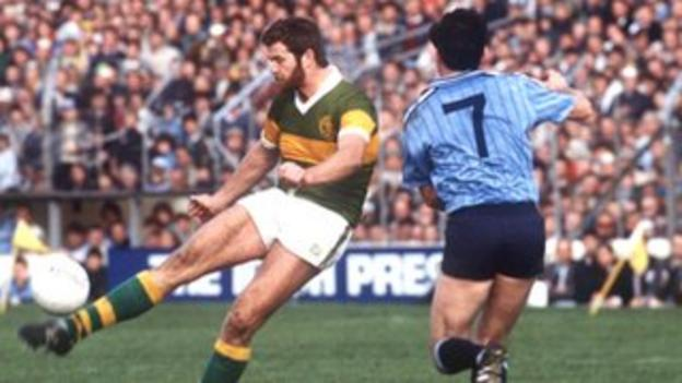 Eoin Liston in action for Kerry in the 1984 All-Ireland final
