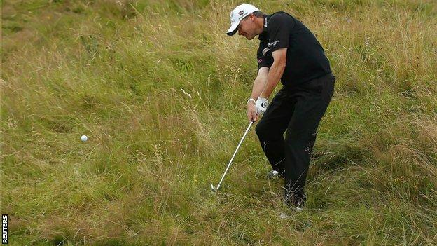 Lawrie fires out of the rough at Royal Lytham