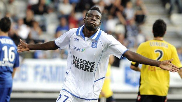 Burkina Faso midfielder Alain Traore
