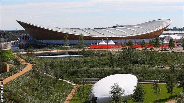 London's Olympic velodrome