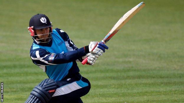 Scotland batsman Preston Mommsen