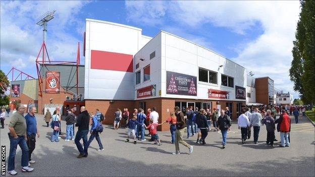 The Goldsands Stadium