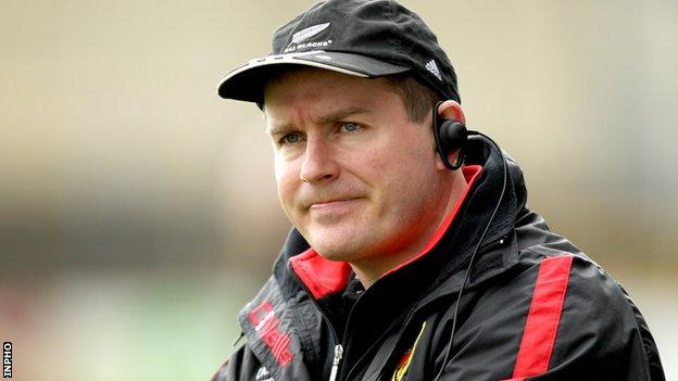 James McCartan will take his Down team to Mullingar to face Tipp