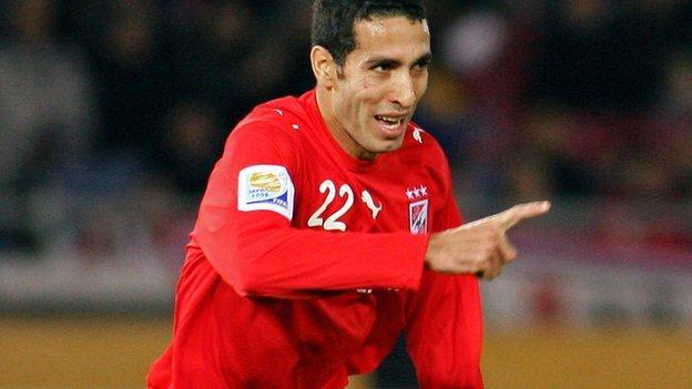 Al Ahly's Mohamed Aboutrika