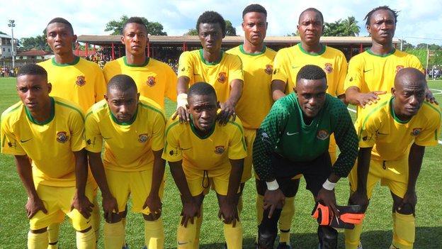 Sierra Leone's Diamond Stars