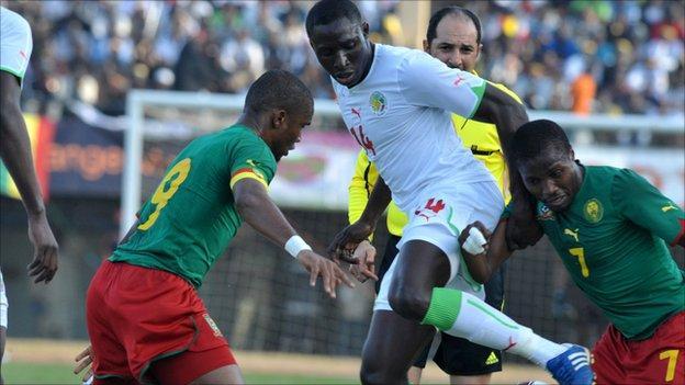 Senegal's Mohamed Diame