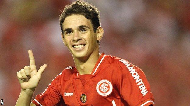 Brazilian midfielder Oscar