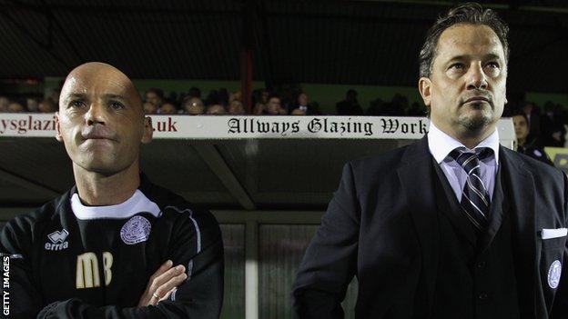 Matt Bishop and Dean Holdsworth