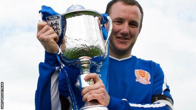 Jersey's Luke Watson lifts Inter-League Cup