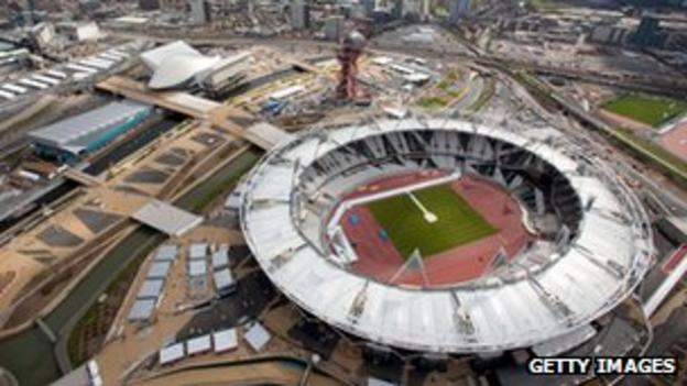 The Olympic Park in Statford