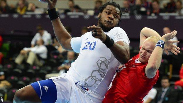France v GB handball