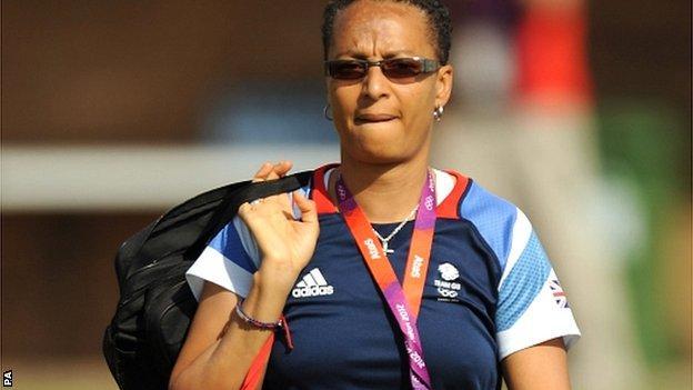 GB women's coach Hope Powell