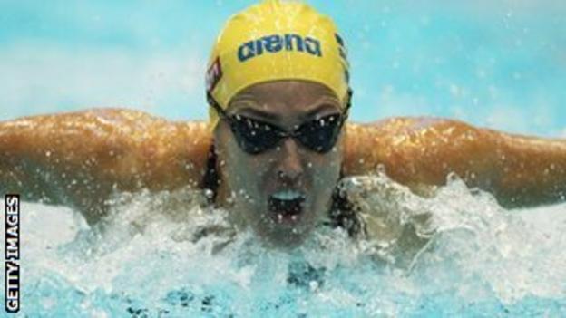 Swedish swimmer Therese Alshammar
