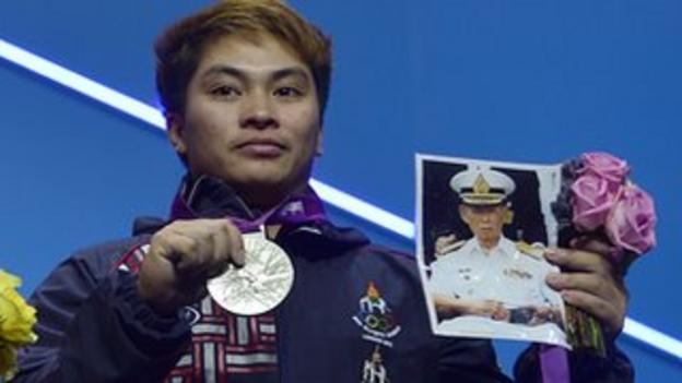 Thailand weightlifter Pimsiri Sirikaew