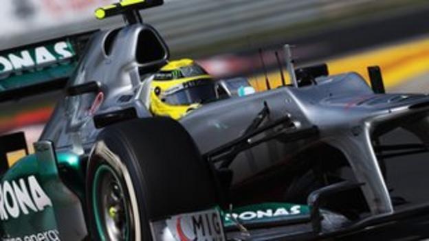 Rosberg in Hungary
