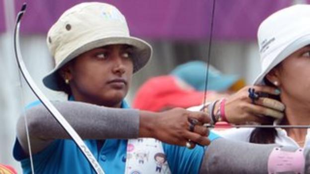 Indian archer Deepika Kumari